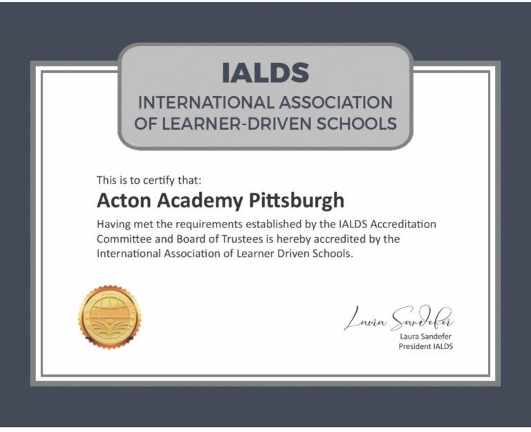 international association learner driven school